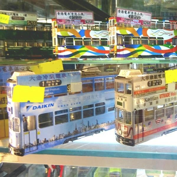 路面電車の模型